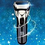 Vifycim Electric Razor for Men, Mens Electric Shaver, Dry Wet Waterproof