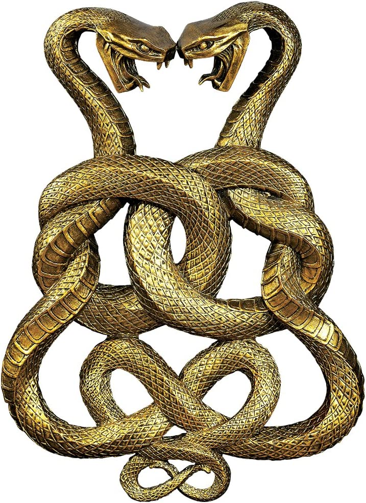 Regal Egyptian Cobra Goddess Renenulet Wall Sculpture Cult of the Cobra Snake
