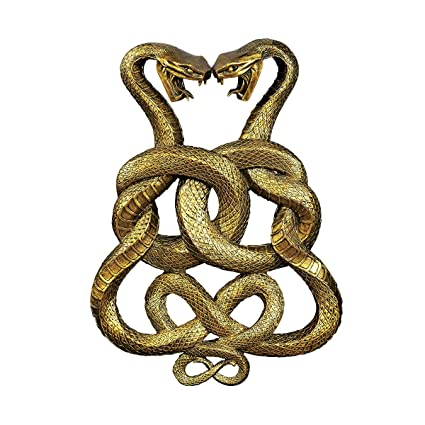 Amazon Design Toscano Egyptian Infinity Cobra Twins Wall Plaque