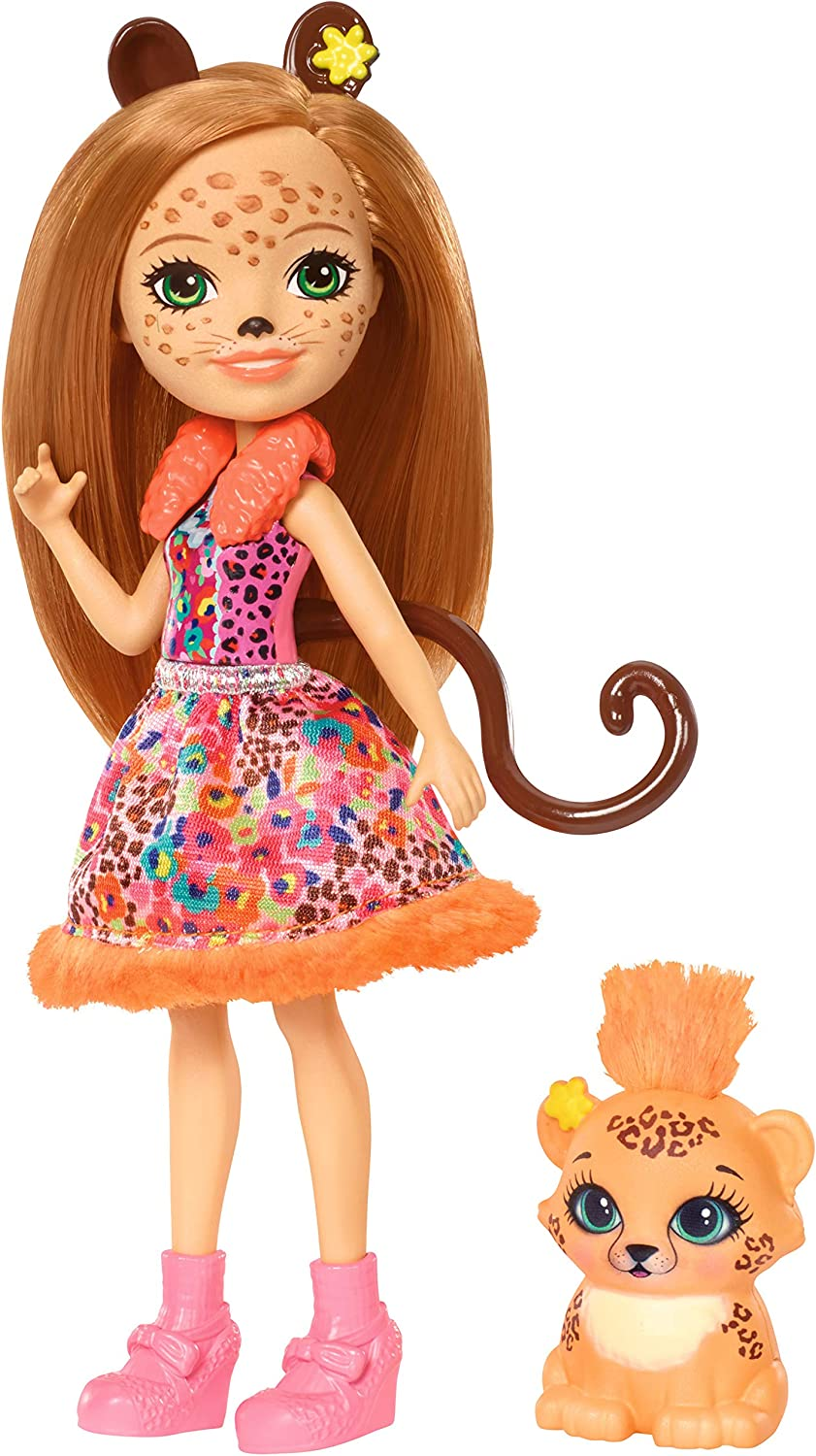 Enchantimals Cherish Cheetah Doll