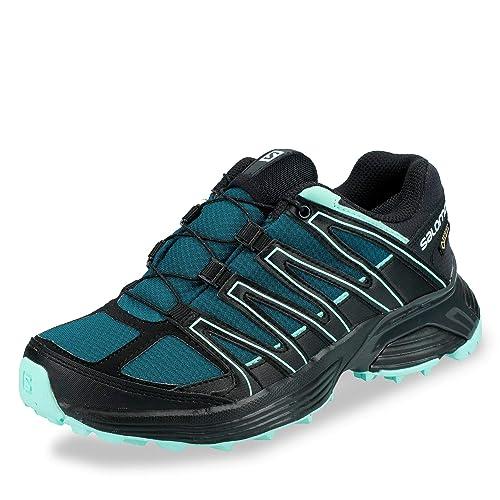 Salomon XT Asama GTX W Trail Running Shoes Pond Black