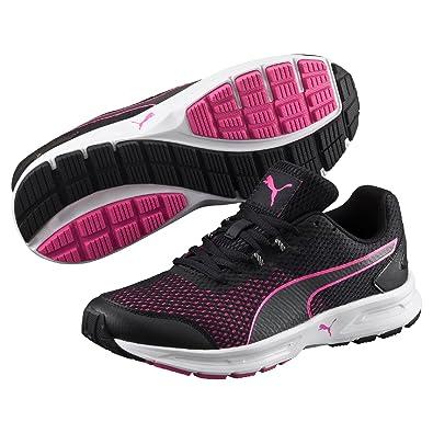 Puma Descendant V4 Chaussures de Running Femme Noir (BlackPink 02