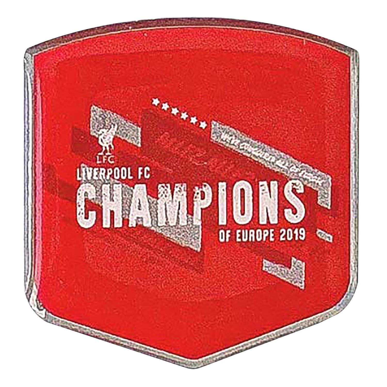 Magnet und Schl/üsselanh/änger FOCO FC Liverpool FC Champions of Europe 2018//19 Anstecker