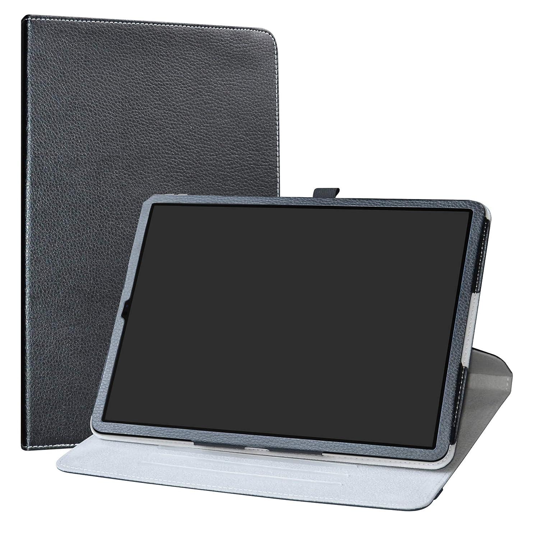 【メール便送料無料対応可】 iPad ブラック Pro 12.9インチ2018ケース Pro、LabanemaプレミアムPUレザー360度回転フリップカバー(iPad Pro 12.9インチ2018タブレット用) - ブラック B07L2P76GR B07L2P76GR, 美作町:af0ce8c1 --- a0267596.xsph.ru