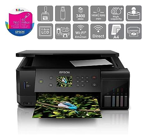 Epson EcoTank ET-7700 Inyección de Tinta 32 ppm 5760 x 1440 dpi A4 ...