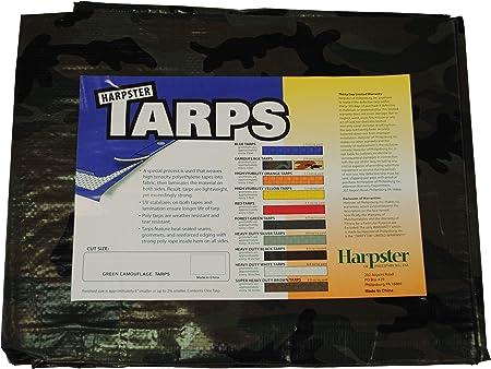 NEW Tarp-Tex 80gsm Waterproof Camo Camouflage Tarp Tarpaulin Ground Sheet Cover