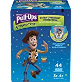 HUGGIES Pull Ups Night Time Big Pack, 3T-4T Boy, 44 Count, Packaging May Vary