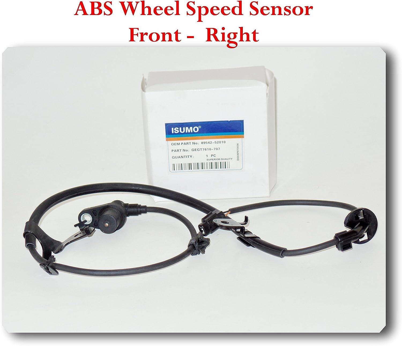 ABS Wheel Speed Sensor Left Front For Fit SCION xA 2004-2006 ECHO 2000-2005