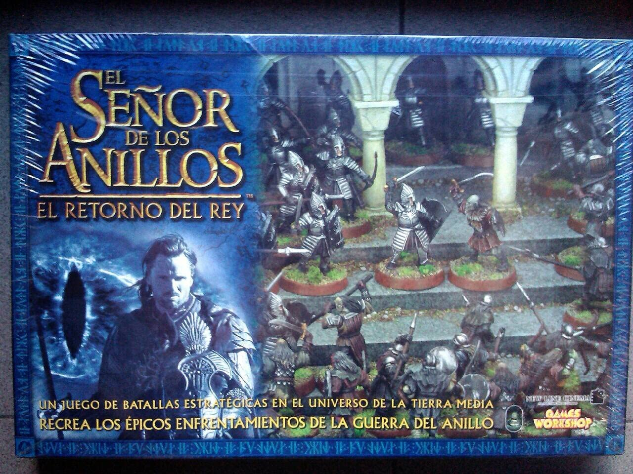 El señor de los anillos Caja basica juego de batallas - EL RETORNO DEL REY: Amazon.es: Juguetes y juegos