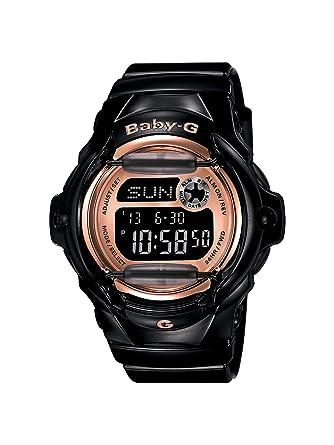 b7c9db95276c Amazon.com  Casio Women s BG169G-1 Baby G Black Watch  Casio  Watches