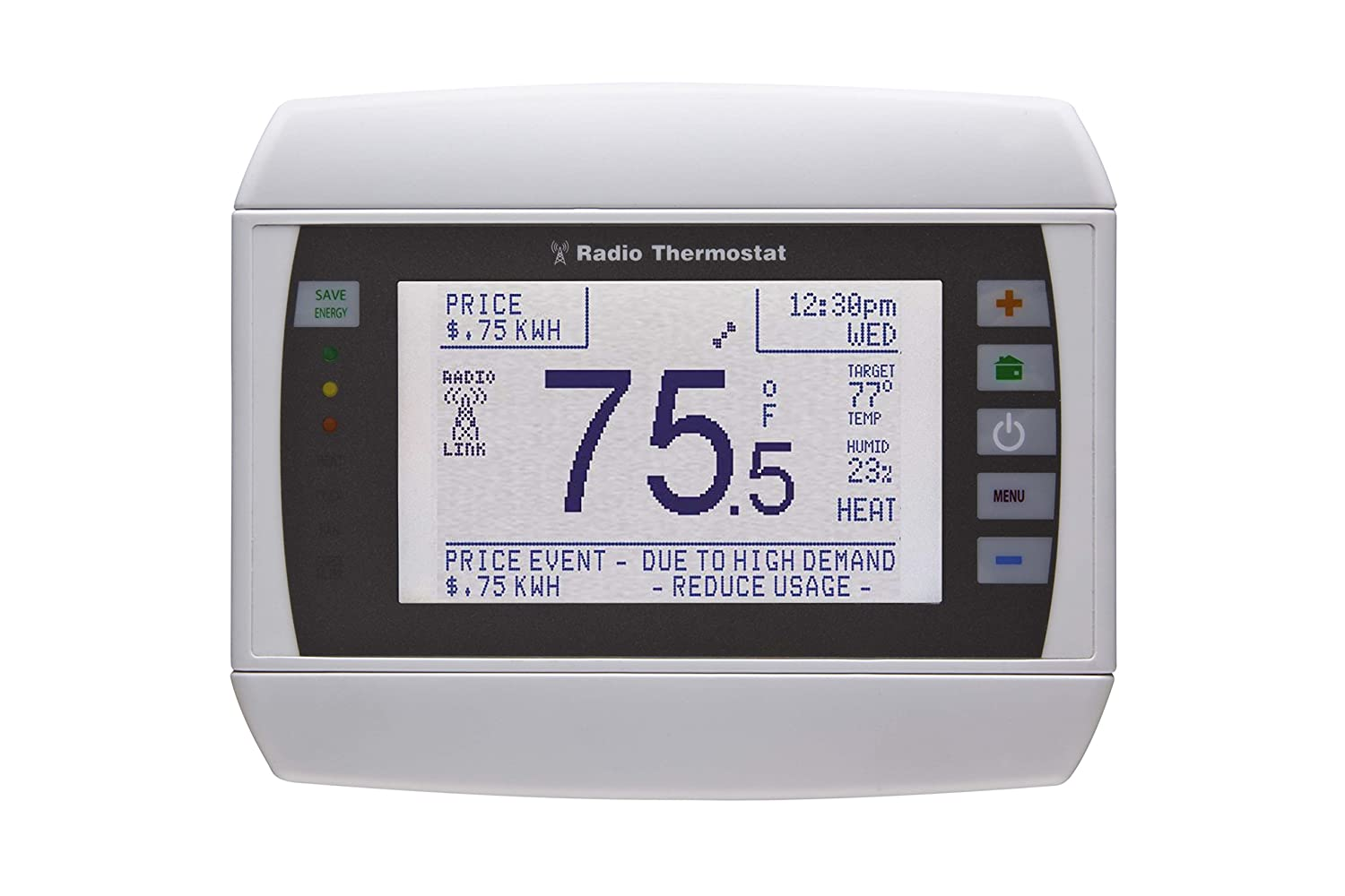 radio thermostat ct32 7 day programmable thermostat z wave enabled amazoncom