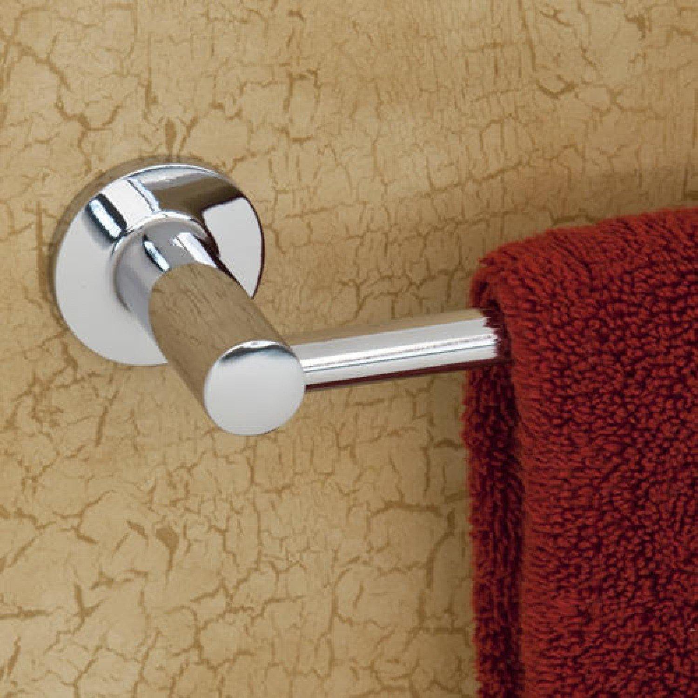 "70%OFF Naiture 30"" Brass/Zinc Wall Mount Towel Bar In Chrome Finish"