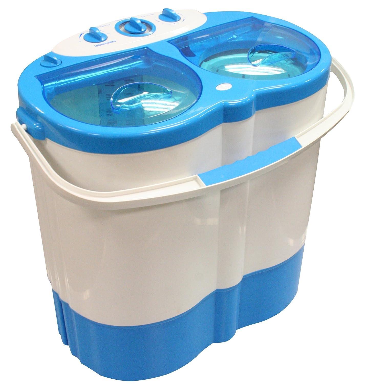 Miniature Washing Machine Twin Tub Portable Washing Machine Spin Dryer Camping Caravan