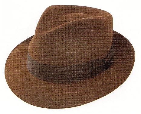 3e3013ac747c3 Stetson Downs Fedora Color Saddle (6 3 4) at Amazon Men s Clothing ...