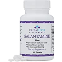 Double Wood Supplements Galantamine - Lucid Dreaming & Nootropic Supplement - 4 Mg - 60 Tablets