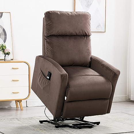Amazon.com: Bonzy Home - Silla reclinable eléctrica con ...