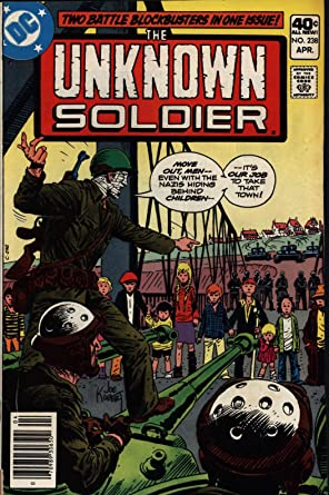 Amazon.com: Unknown Soldier #238 Very Good Operation Pied Piper DC Comics 1989 SA: Entertainment Collectibles
