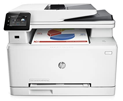 HP M277DW – A small and well-designed color printer, also scans, makes copies, sends faxes