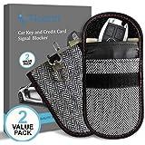 Amazon com: Naviurway 2Pack Key Fob Signal Blocking Bag