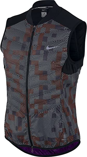 ab84cc566 Nike Women's Aeroloft Flash ALLOVER running Vest NEW! 2016
