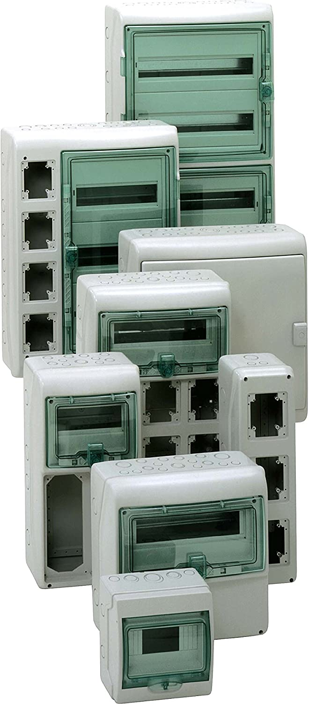 340/x 335/mm Schneider 13166/Kaedra Bo/îtier universel pour prises 12/+ 1/TE Application Coupes