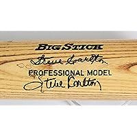 $363 » Steve Carlton Game-Issued Bat Signed Phillies - COA & JSA - PSA/DNA Certified - Autographed MLB Bats