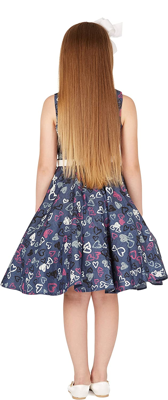 8833a6150 BlackButterfly Niñas 'Audrey' Vestido Vintage Años 50 Rockstar