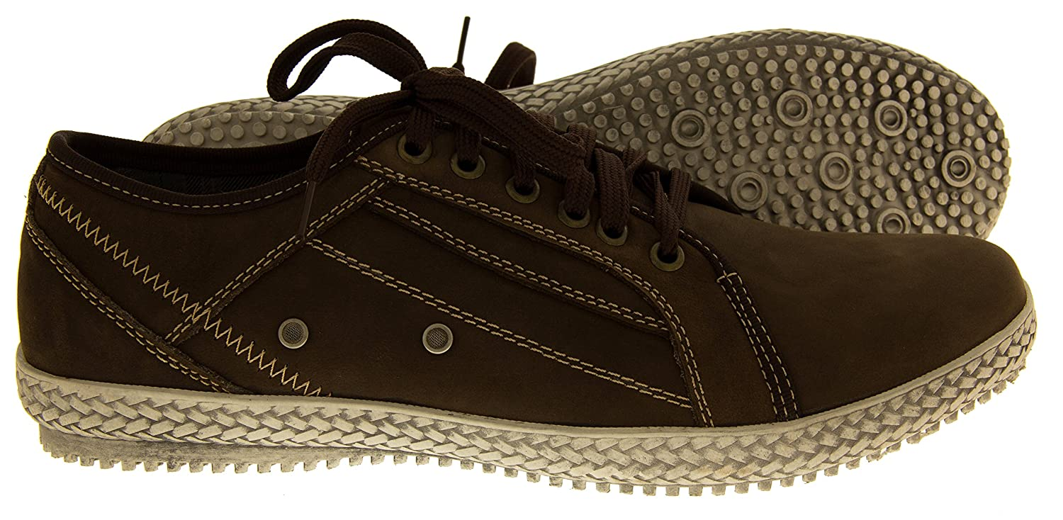 ad98be64708 Footwear Studio Mens REAL LEATHER YACHTSMAN BY Seafarer Boat Shoes Casual  Formal Shoes Moccasins  Amazon.co.uk  Shoes   Bags