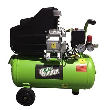 Build Worker CH20 – 175 – 25 Compresor De Aire, Verde
