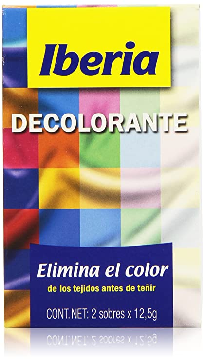 Iberia - Decolorante - Elimina el color de los tejidos antes de ...