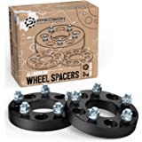 """4 Wheel Spacers 5x4.75 1.25/"""" Thick with 7//16 Studs Fits Firebird GTO Cutlass"""