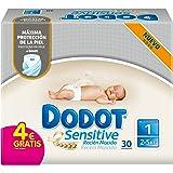 Dodot Sensitive - Pañales para bebé, talla 1 - 1 paquete de 30 pañales