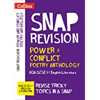 Power & Conflict Poetry Anthology: AQA GCSE 9-1 English Literature (Collins Snap Revision)