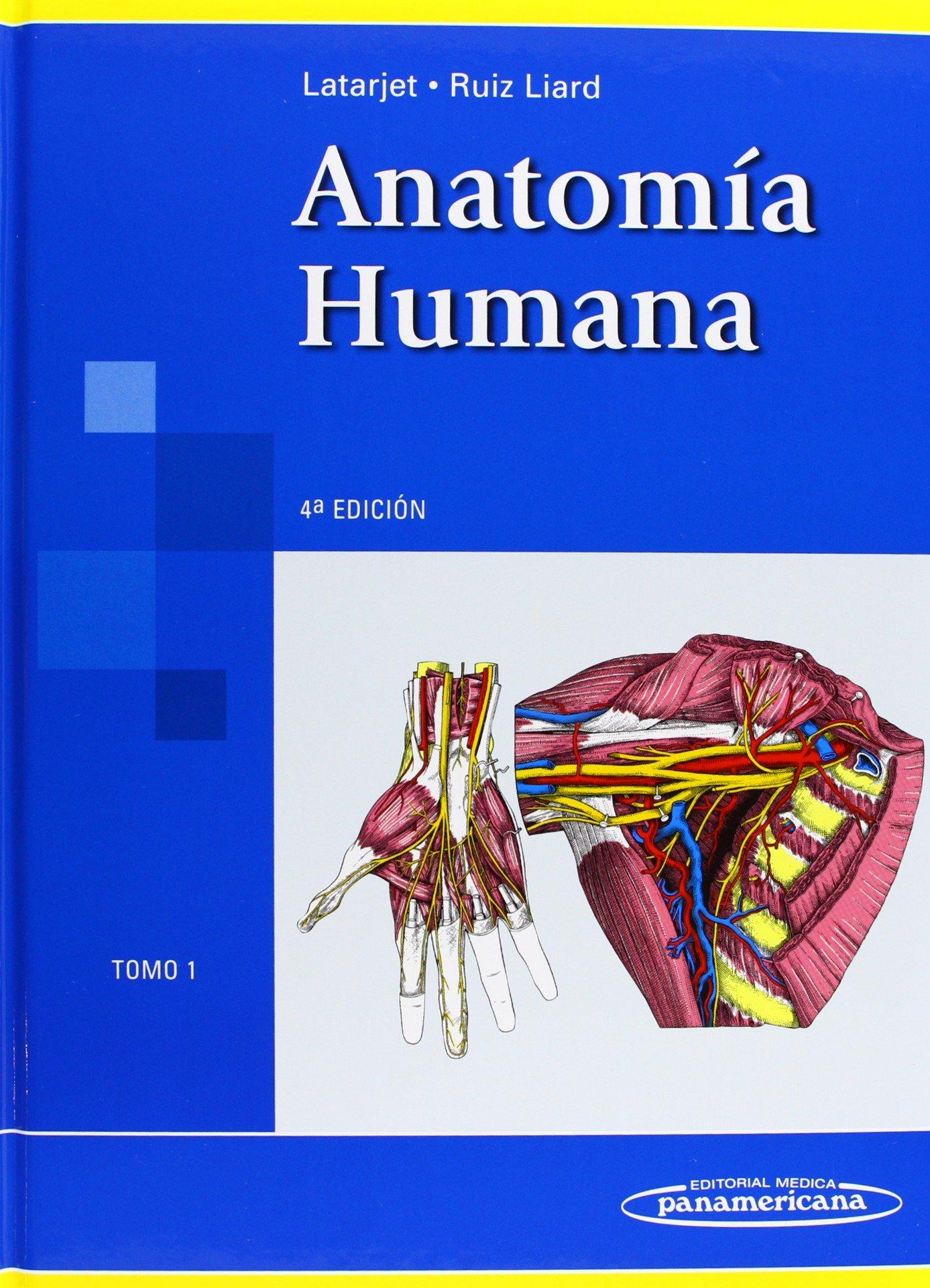 Anatomía humana: 1: Michel Latarjet, Alfredo Ruiz Liard: Amazon.com ...