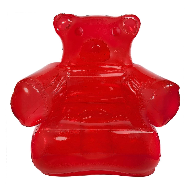 Thumbsup Fauteuil Ours Gummy Rouge Plastique