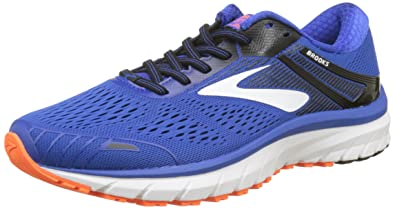 51c8d899dd1 Image Unavailable. Image not available for. Color  Brooks Men s Adrenaline  GTS 18 Blue Black Orange 11 D US ...