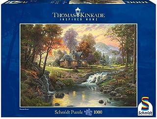Schmidt Spiele Thomas Kinkade: Chalet- Puzzle da 1.000 pezzi 58445 B000IM9W36