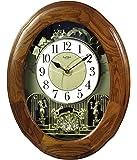 Rhythm Clocks Joyful Nostalgia Oak Wall Clocks