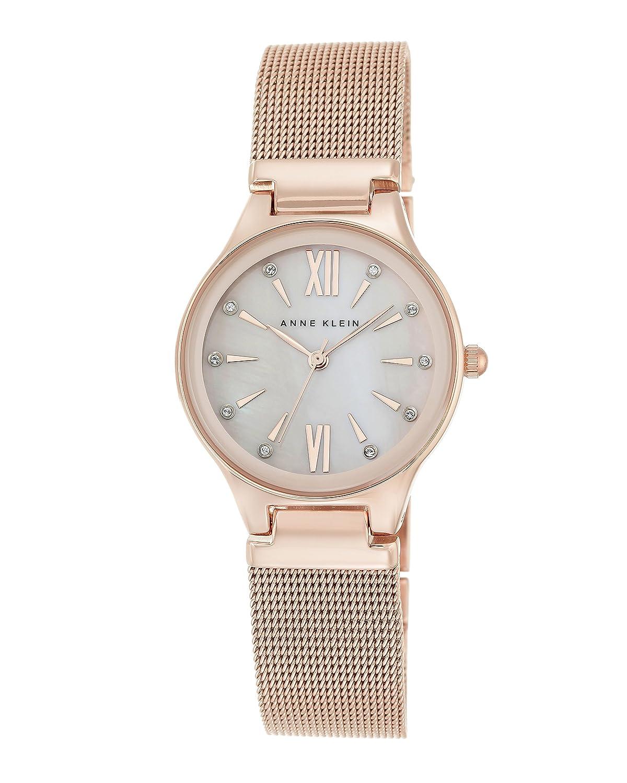Anne Klein - Damen -Armbanduhr- AK-2418BMRG