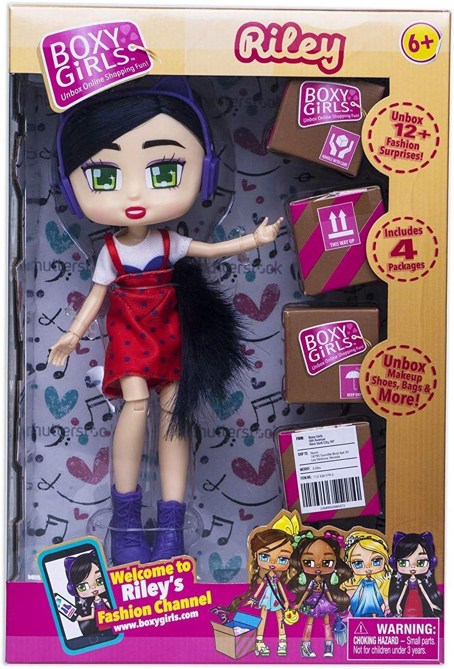 Brand New NEW Boxy Girls Brooklyn Doll PLUS 1 Extra Fashion Pack