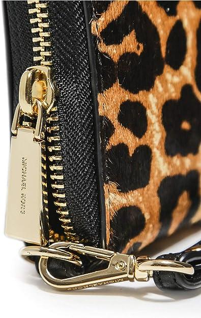 MICHAEL Michael Kors Damen Leopard Print Kalb Haar
