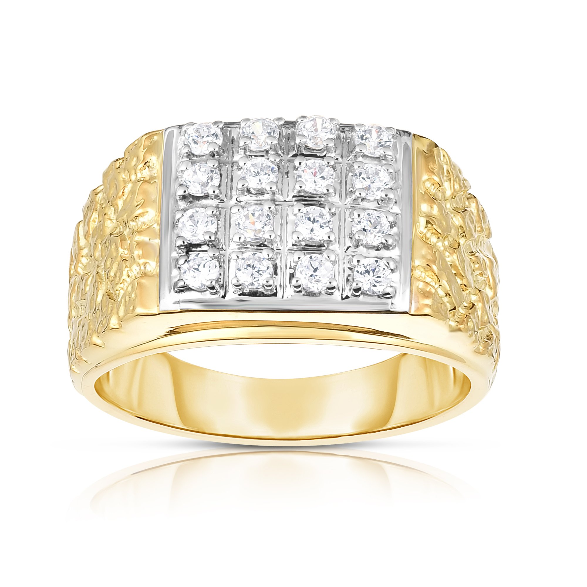 Noray Designs 14K Gold Diamond (0.50 Ct, I1-I2 Clarity, G-H Color) Men's Ring