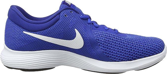 Nike Revolution 4, Zapatillas de Running para Hombre, Azul (Game Royal/White-Deep Royal Blue-Black 400), 47 EU: Amazon.es: Zapatos y complementos