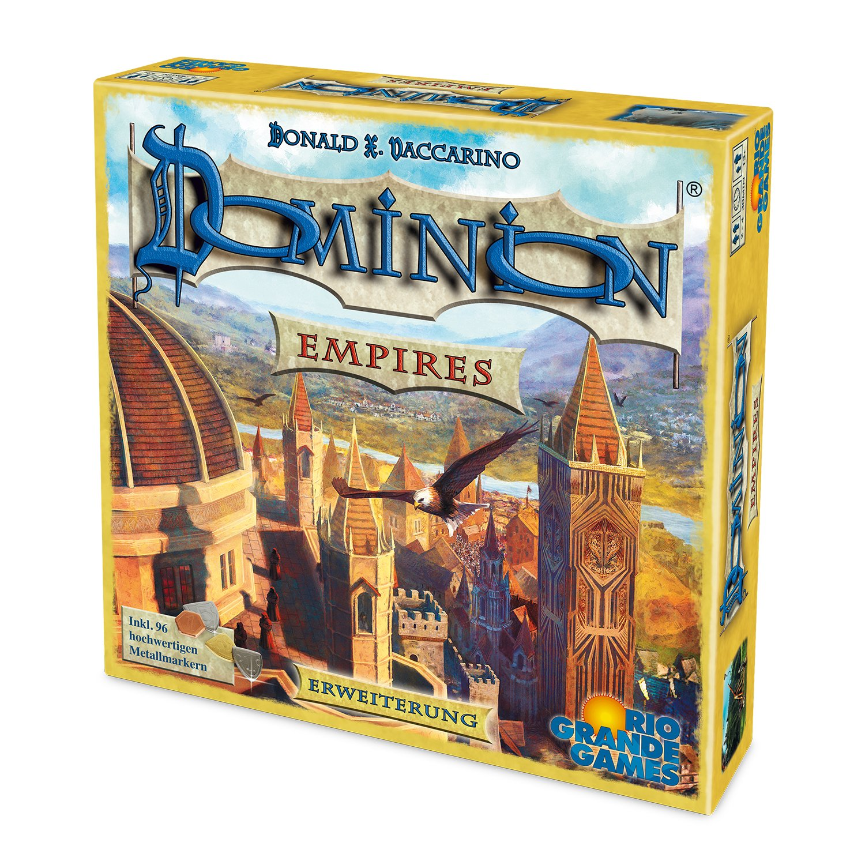Rio Grande Games 22501410 - Dominion Erweiterung - Empires: Amazon ...