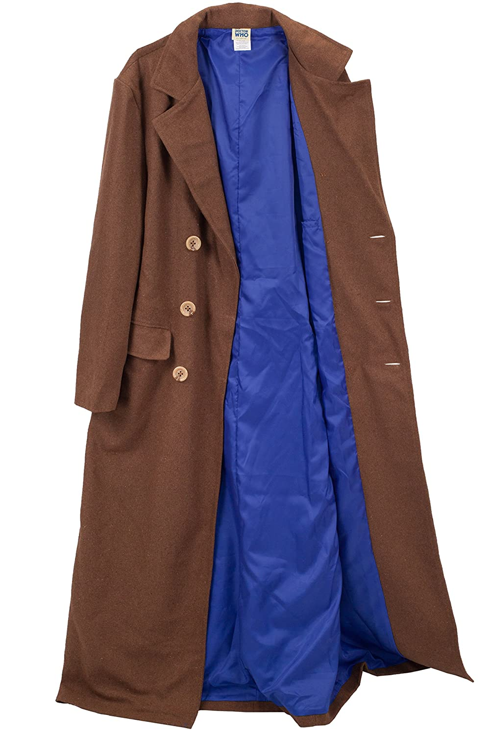 Men's Vintage Style Coats and Jackets Doctor Who Tenth Doctor Adult Costume Jacket $65.18 AT vintagedancer.com