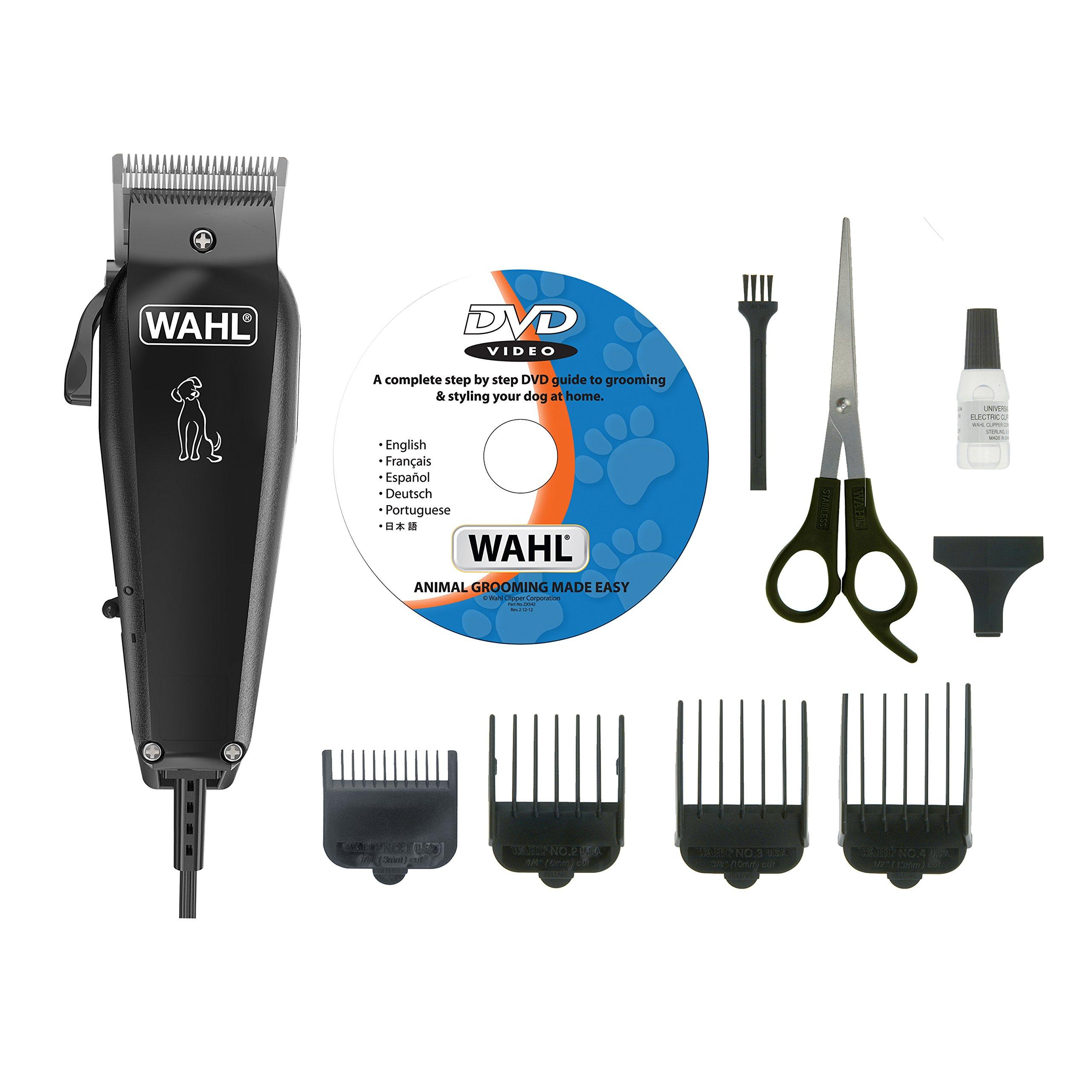 Wahl 9266-834 Multi Cut Professional Grooming Animal Dog Clipper Kit [black] B+