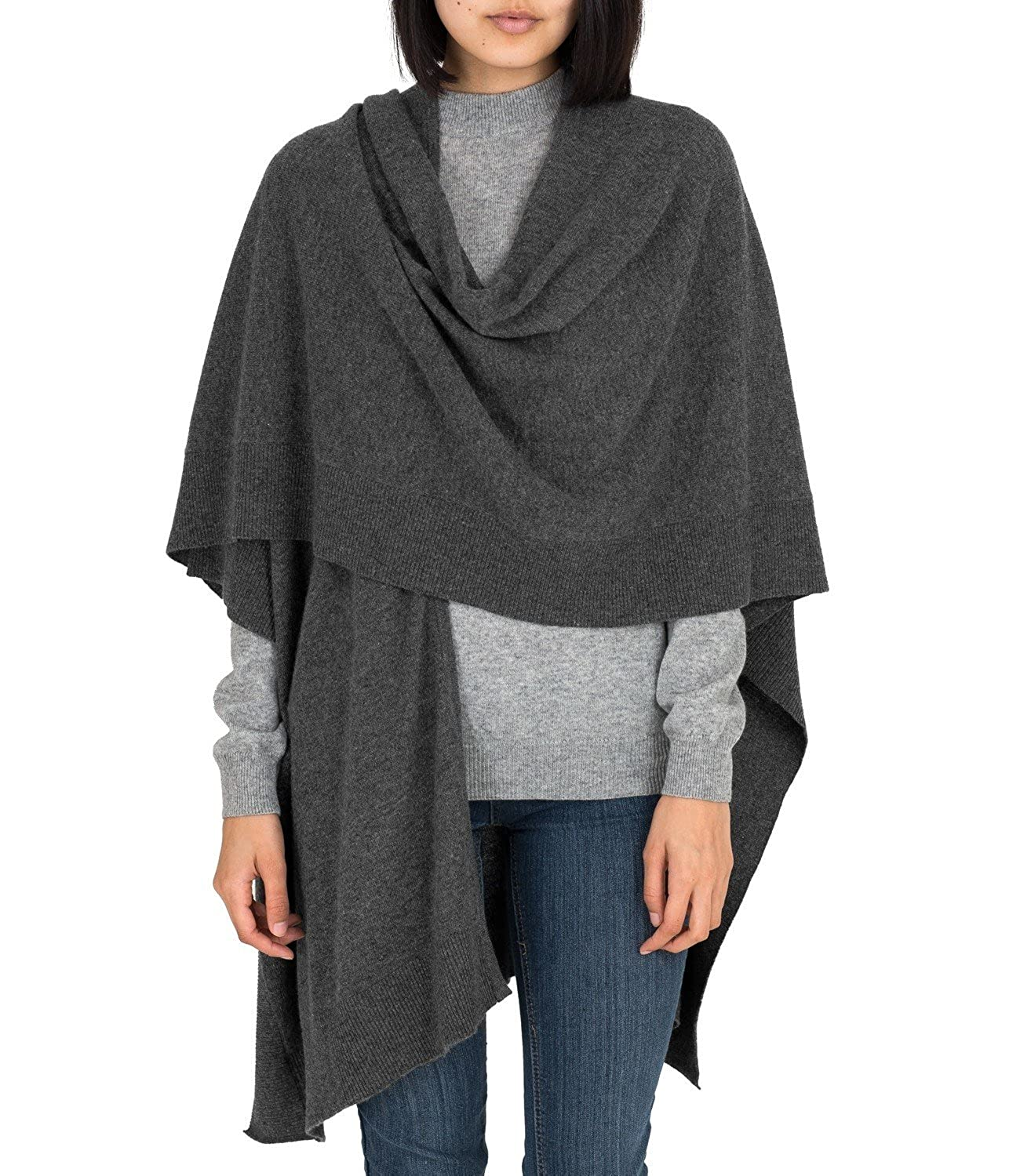 WoolOvers Cashmere-Merino Cape Damen - A62