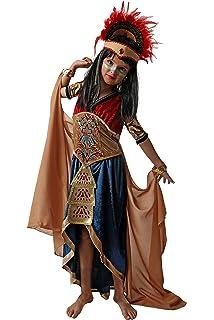 EUROCARNAVALES Disfraz de Indio Azteca para Hombre: Amazon.es ...