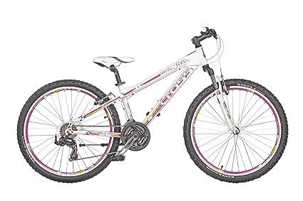 Amazon.com : Cross Gravita S hardtail mountain bike 26 inches white ...