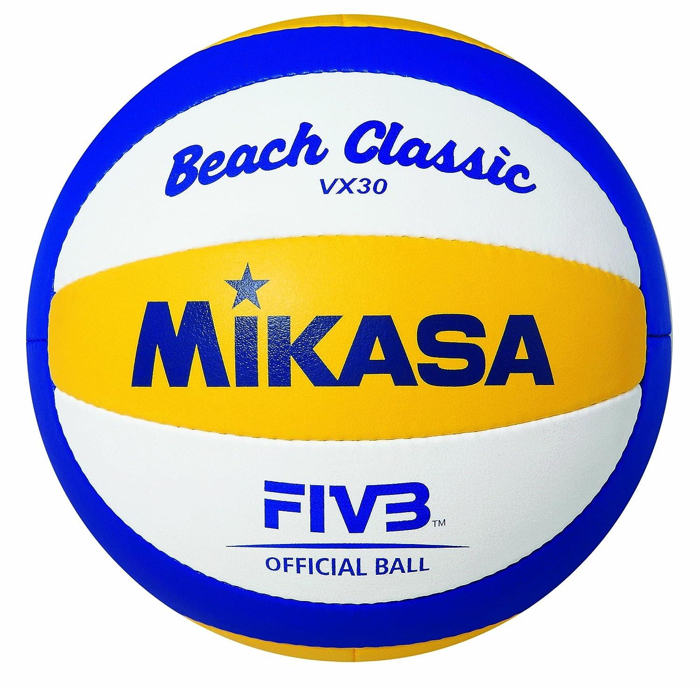 Mikasa VX-30 - Balón de voleibol, color azul/amarillo / blanco, talla 5 1612